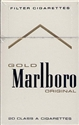 PAPIEROSY MARLBORO GOLD OR. 100 BOX 20